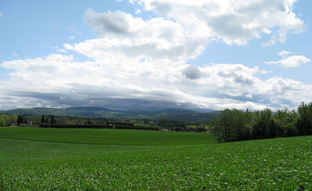 Les nuages restent coincés sur le PILAT.